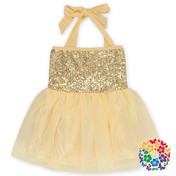 c28a6aac6c69b Champagne Color Baby Girls Party Dresses Boutique Girls Summer Sequined  Tutu Dresses Children Frocks Designs 2019 - Buy Girls Party Dresses,Girls  ...