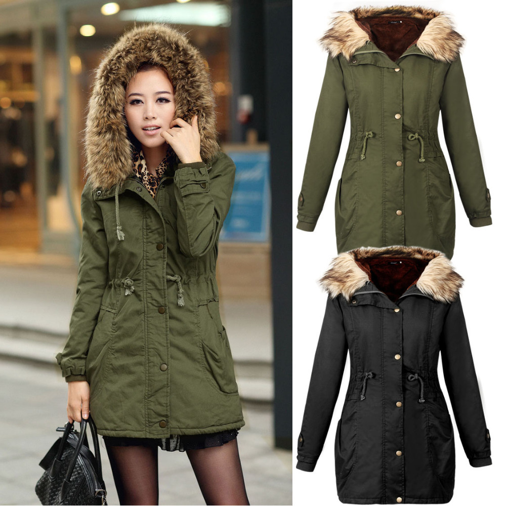 Cheap down winter jacket women, Buy Quality fashion winter jacket women directly from China winter down jacket women Suppliers: Warm Winter Jackets Women Fashion Down Cotton Parkas Casual Hooded Long Coat Thickening Zipper Slim Fit Plus Size Long Parka Enjoy Free Shipping Worldwide! Limited Time Sale Easy Return/5(74).