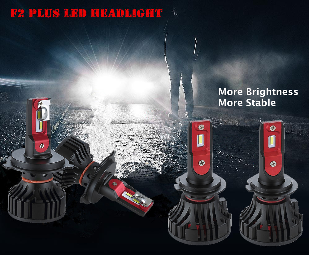 F2 Plus LED Headlight