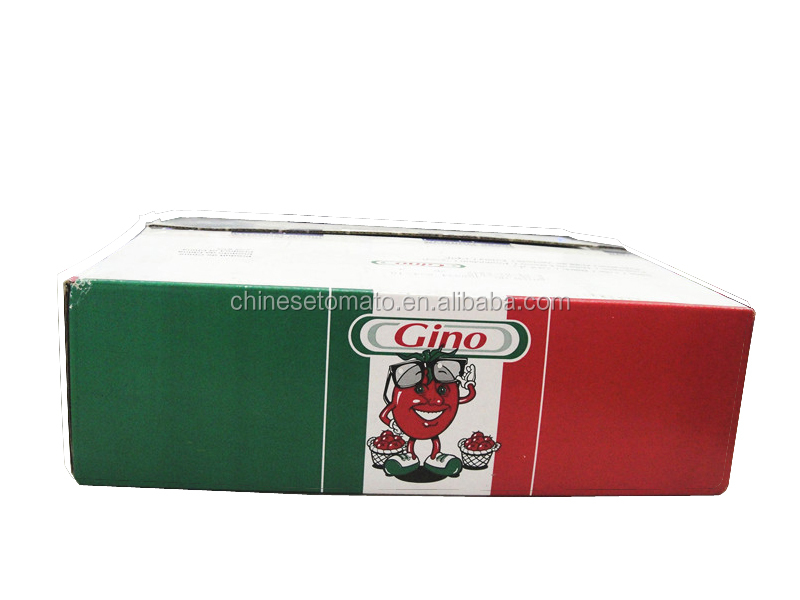 210 G Gino Quality Canned Tomato Paste,Tomato Sauce In Tin China ...