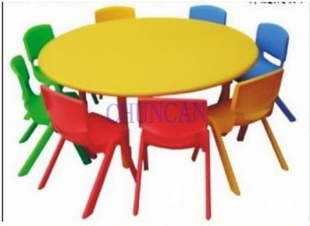 Newest Cheap Plastic Round Tables For Sale Kids Student Furniture Children  Plastics Round Tables U0026 Chairs