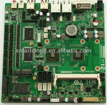 APU G-serie dual core embedded motherboard for ATM/POS terminals/all in one/Mini ITX/2*Gigabit LAN/1333Mhz ddr3 with SIM slot