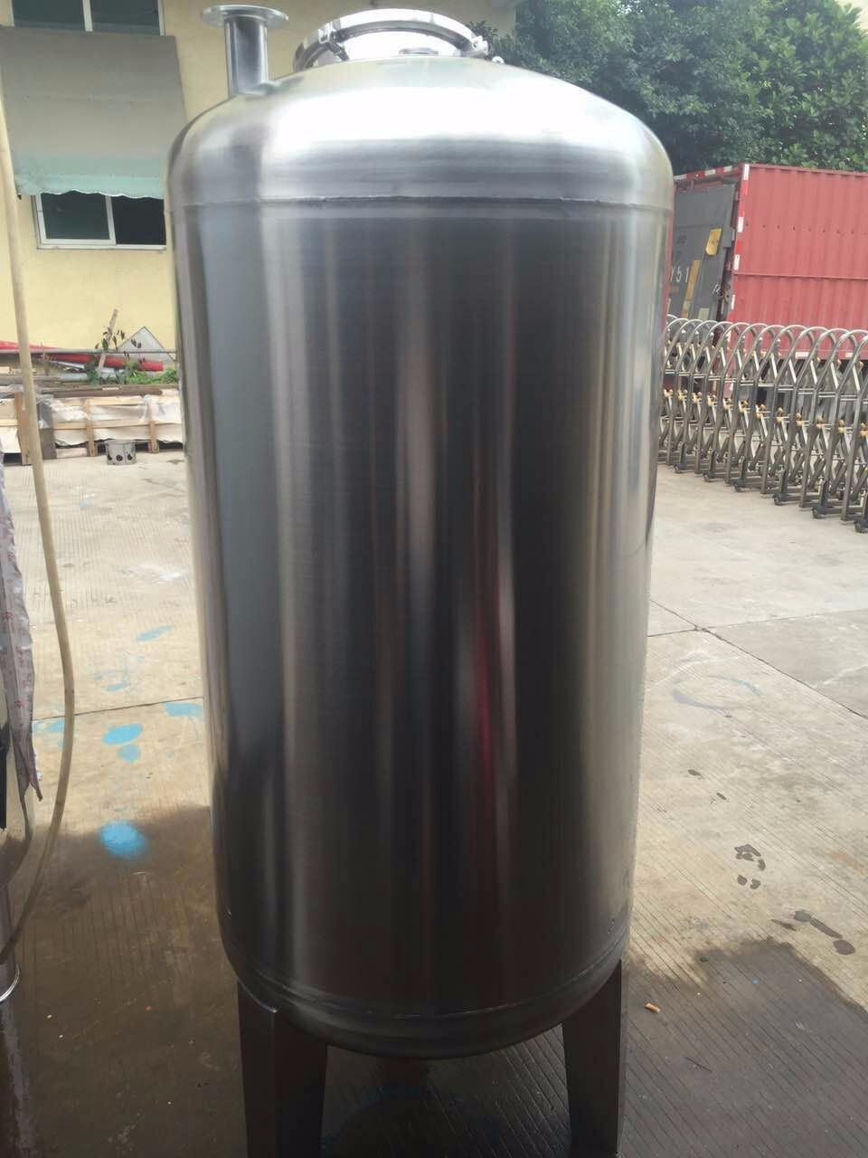 Factory Manufacture 304 Stainless Steel 500l Alcohol Storage Tank Vacuum Flameproof