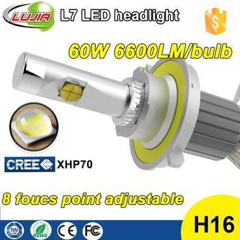 2017 4300k 5000k 6000k Car Lighting Led Kit,Xhp70 60w Led ...