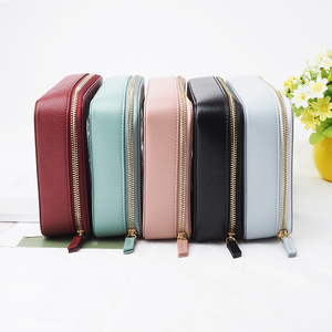 Transparent travel bag for women cosmetic bag