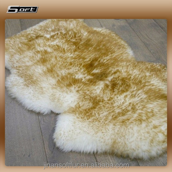 premium large size sheepskin wool fur rugs and carpets