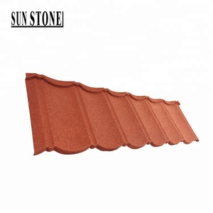 cheaper than roman clay roof tiles price in sri lanka sand coated steel roof ridge tiles