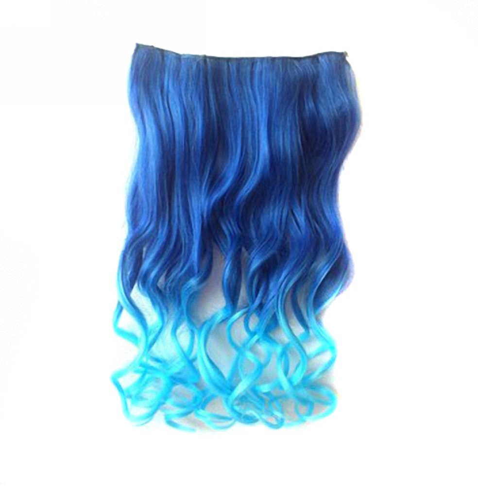 Buy Mapofbeauty Beautiful 2 Pack Long Curly Clip In Hair Extension