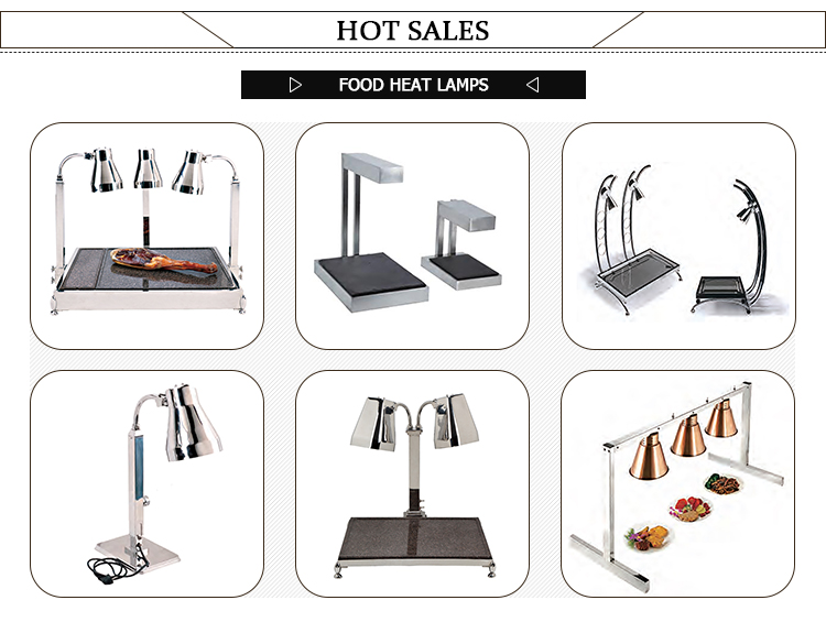 Stainless Steel Food Warmer Lamp Buffet Heating Lamps