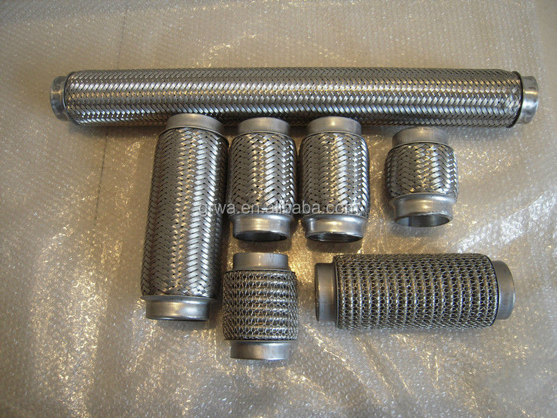 flex pipe stainless for automobiles