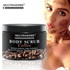 Best ORGANIC Exfoliating Body Scrub with Coconut Oil Skin Whitening Sea Salt Scrubs