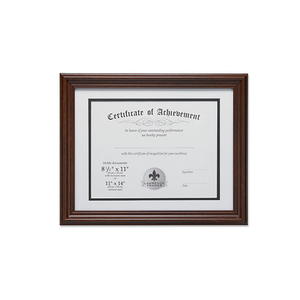 Wood Certificate Diploma Frame For School