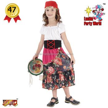 Lucida manufacturer hot sale kids gypsy girl costume  sc 1 st  Alibaba & Lucida Manufacturer Hot Sale Kids Gypsy Girl Costume - Buy Carnival ...