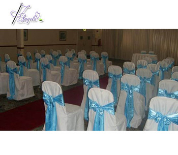 cheap banquet chair covers for sale, wholesale basic polyester chair covers