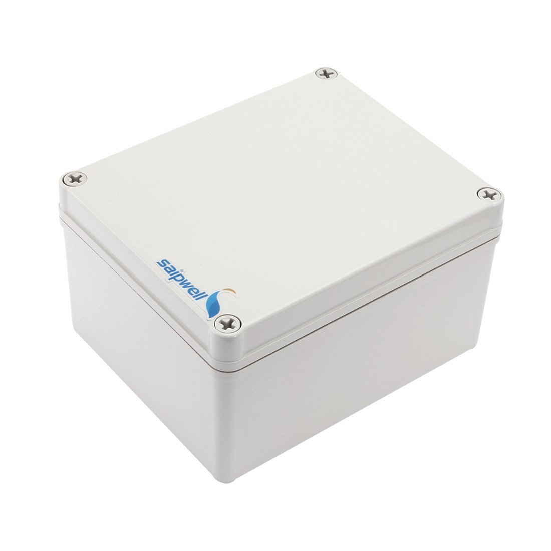 "uxcell 5.51"" x 6.69"" x 3.74"" (140mm x 170mm x 95mm) Electronic ABS Plastic DIY Junction Box Enclosure Case Gray"