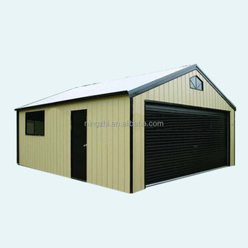waterproof metal garagesteel structure metal storage shed