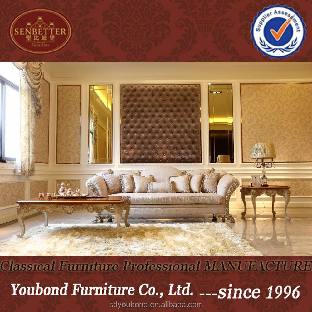 0066 Elegant Vintage Style Living Room