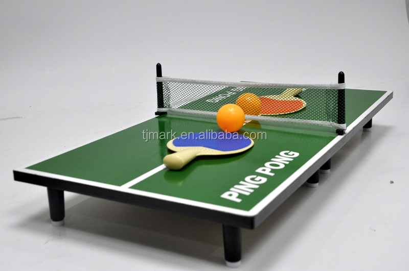 Best quality wooden toy Mini tafeltennis table tennis table set for kids & Best Quality Wooden Toy Mini Tafeltennis Table Tennis Table Set For ...