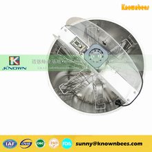 Stainless steel 6 frames electric bee honey extractor machine