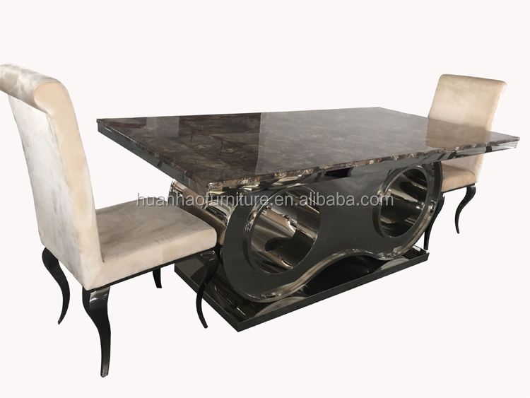 classique longue et troite 12 places table manger pour grande famille dh 1451 tables en m tal. Black Bedroom Furniture Sets. Home Design Ideas