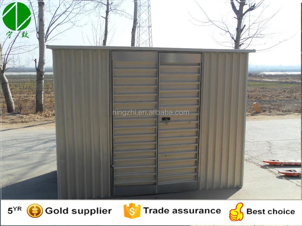 Venta al por mayor cobertizos de fierro compre online los for Cobertizo de metal
