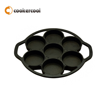 Pre-seasoned cast iron drop biscuit pan from China