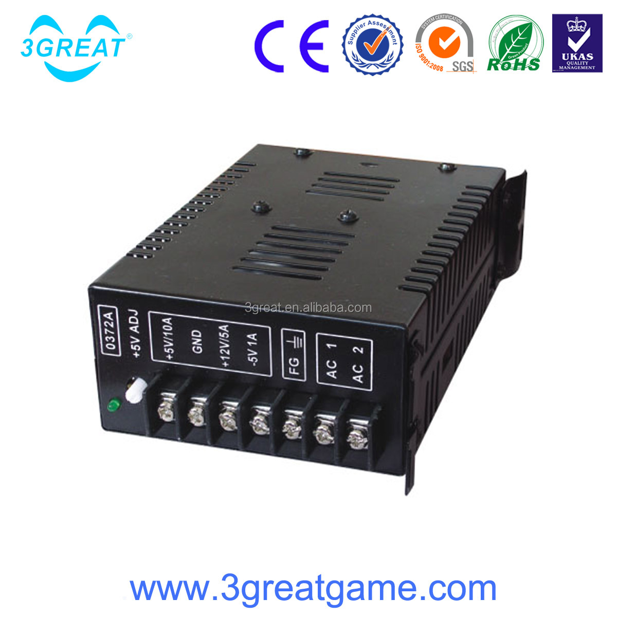 5v power supply for arcade game machine spare parts
