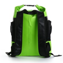 Outdoor survival pack waterproof dry bag with shoulder straps