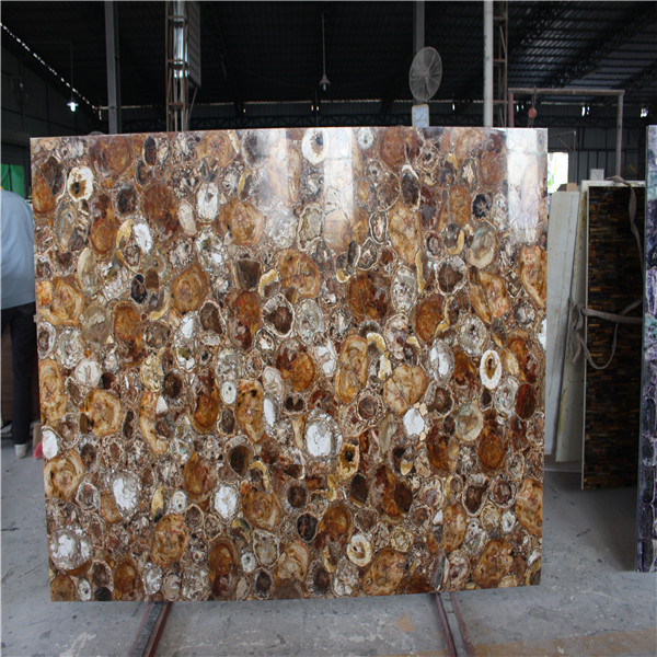 Fossil Wood Stone Countertop/wood Jade Slb/petrified Wood Tabletop