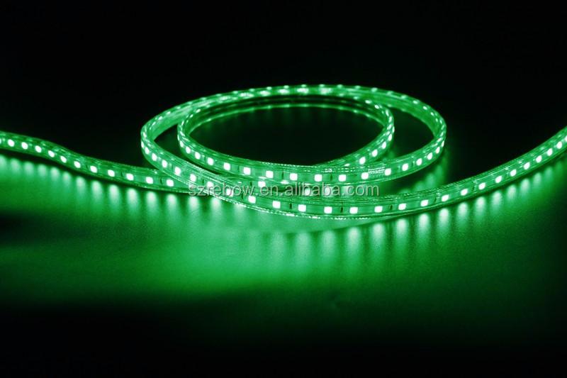 Led strip verlichting 50 meter rgb led strip 5050 220v led strip