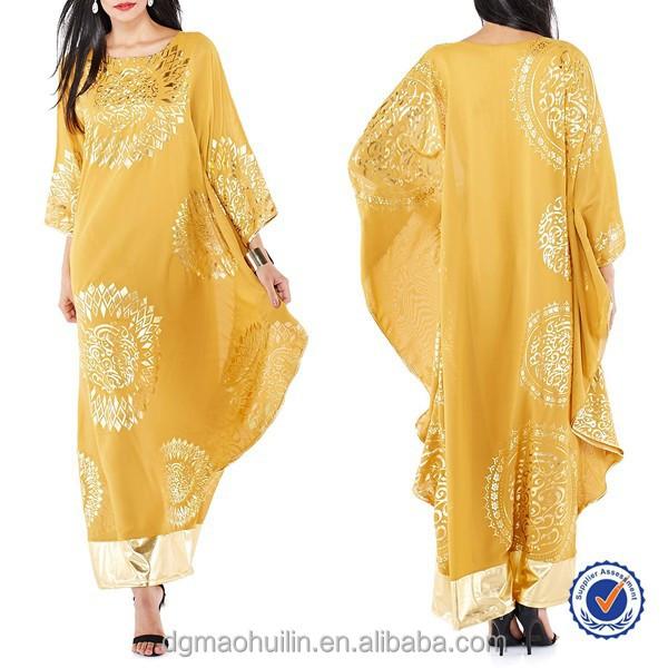 China Supplier Custom Wholesale New Design Arabic Kaftan Dubai ...