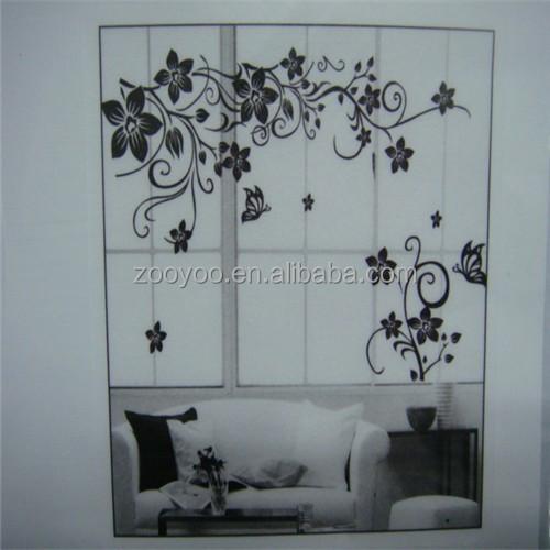 zooyoo027s pvc parete smontabile della decalcomania decorazioni ... - Decorazioni Per Pareti Soggiorno