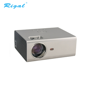 Newest portable mini LED home digital projector for home use