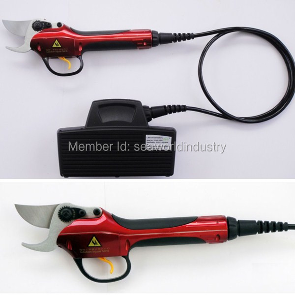 Electric Pruning Shear, vineyard pruner, lithium powered, durable