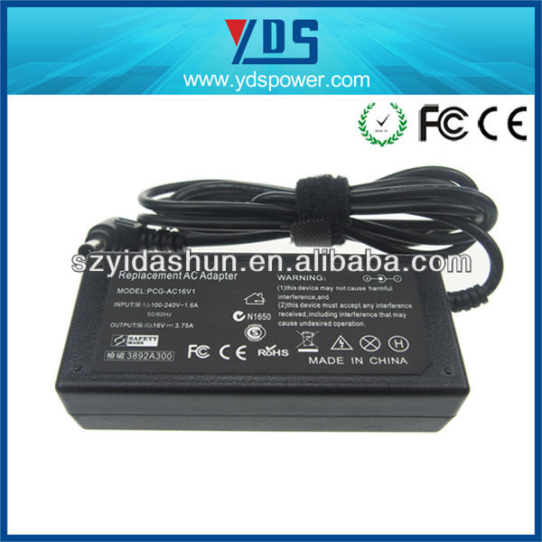 best selling products for so 16v 3.75a 60w hotel adaptor