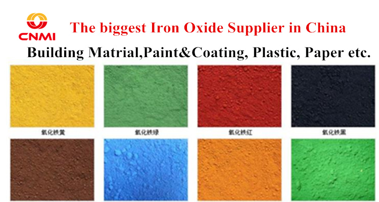 Hot Sell Pigment nano iron oxide Colors Coating Paint For Cement Bricks Stamp Concrete