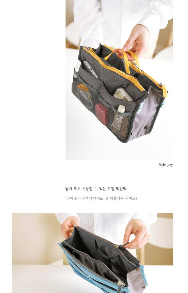 Free Shipping Fashion Women Designers Handbags Korean Style ladies cosmetic bag multifunction canvas folding makeup bag