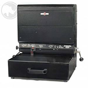 "Rhin-O-Tuff Onyx HD7700H 14"" Open-Ended Horizontal Electric Punch"
