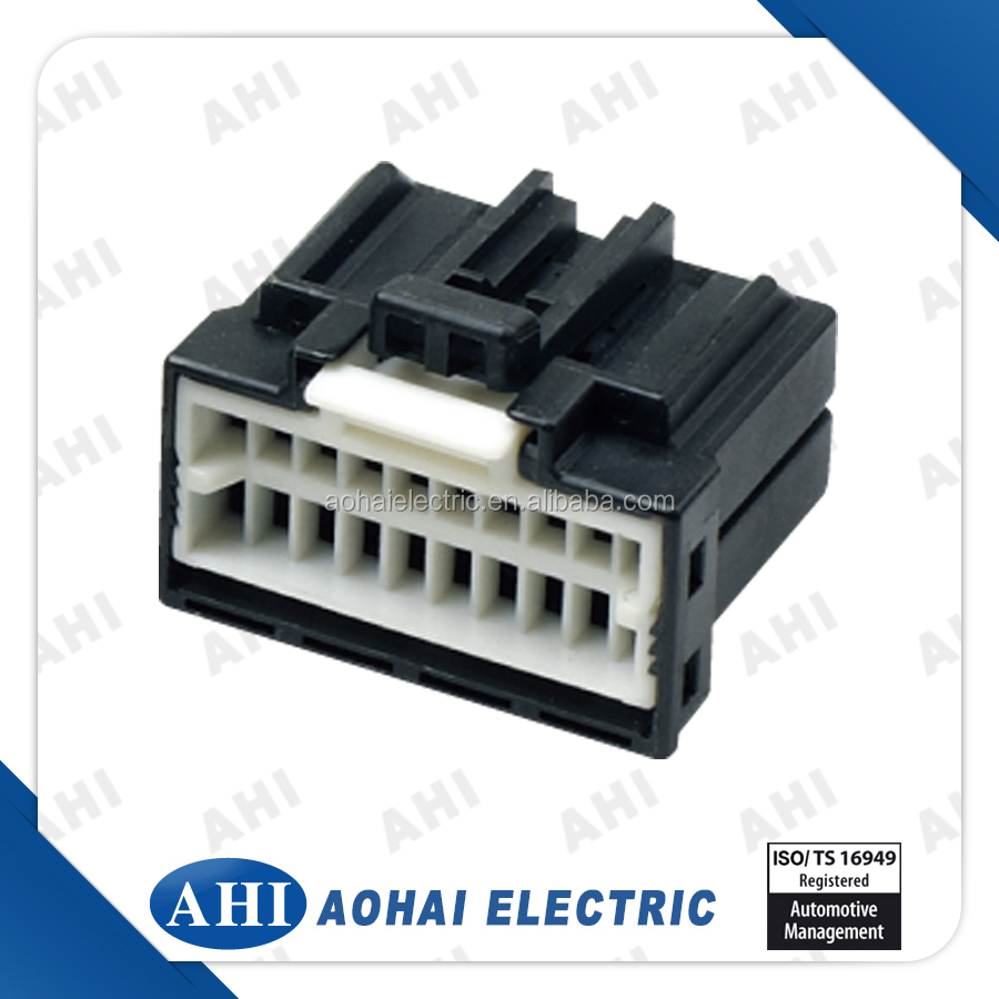 175967-2) 20 Pin Pbt Plastic Cable Waterproof Connector,Splicing ...