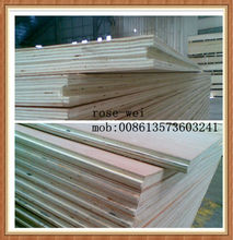 high quality pine face and back T&G groove plywood