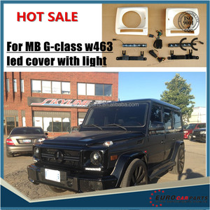 w463 headlight LED cover with light for MB G-class G65 G63 style