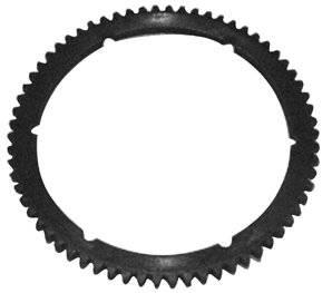 """Starter ring gear for <b>73319, 73320</b> & <b>73402</b><br>fits all bdl belt drives, big twin 1985/1993. 6 <font size=""""1""""><sup>7</sup>/<sub>8</sub></font>"""" i.d.<br>replacement 66 tooth starter ring gear for <b>75442, 75443</b> & <b>75444</b>-by-belt drives ltd."""