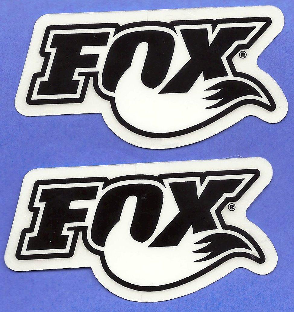 Buy Fox Shocks Racing Decals Stickers Set Of 2 Dirt Bike Motorcycles