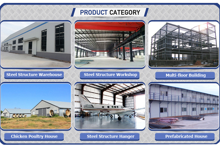 Cost Effective Warehouse Construction Buildings Pans Steel Structure Storage Shed