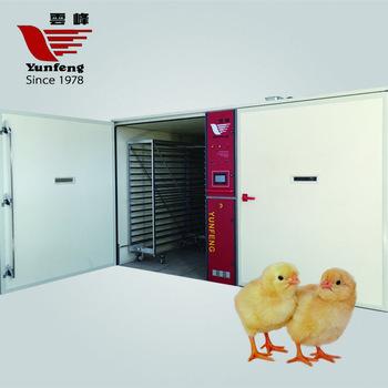 Big promotion 220V Automatic chicken egg hatchery project