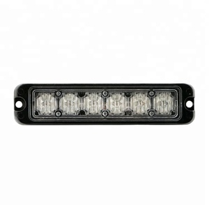 18W LED emergency flashing police strobe led light bar LB1086-1