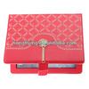 2014 wholesale leather case rhinestone leather cover for ipad air leather case,for ipad 5 case