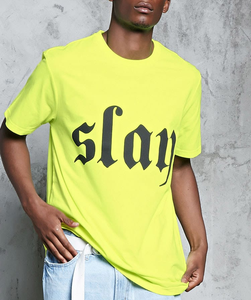 Casual Simple Streetwear Short Sleeve Custom Logo Print T Shirt