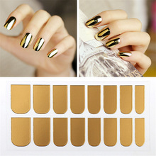 Nail Polish Manicure Decals Nail Art Sticker Nail Transfer For DIY Nail Decoration Multi Colors Free Shipping