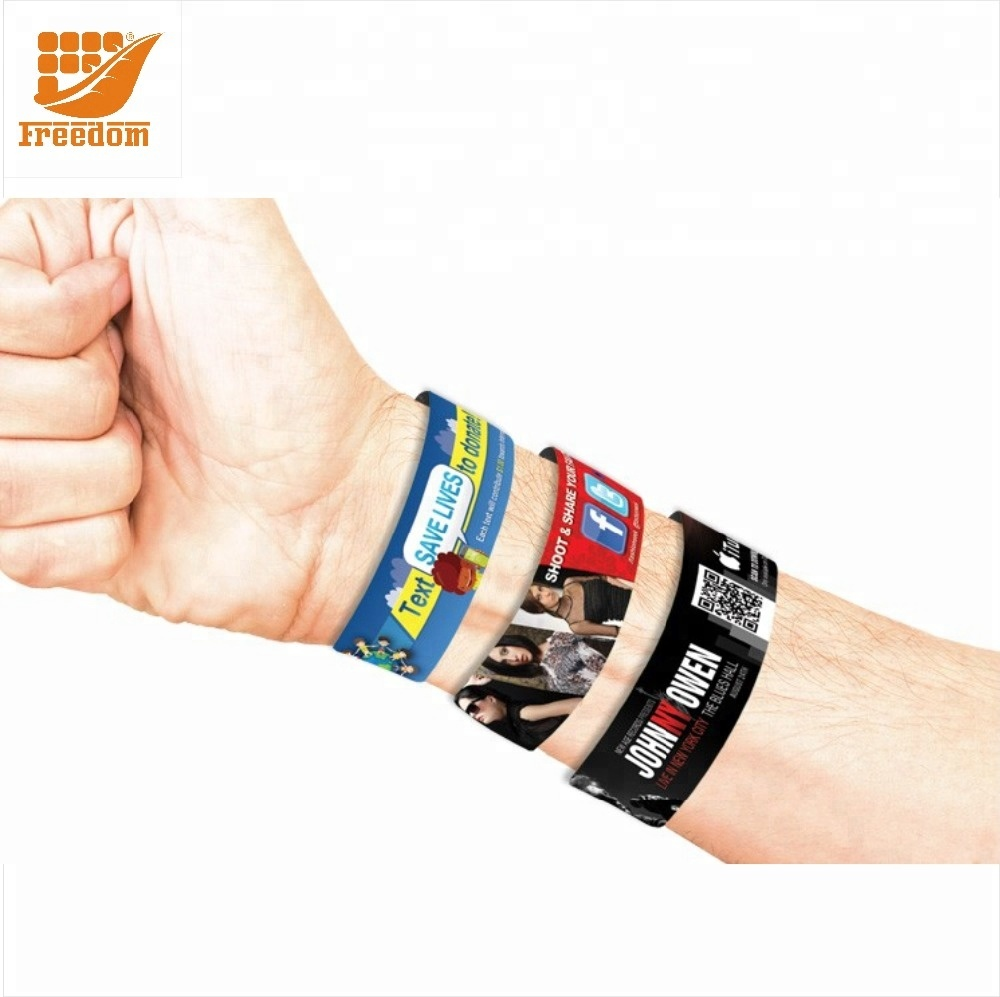 Bulk Cheap Promotion Custom Tyvek Wristband